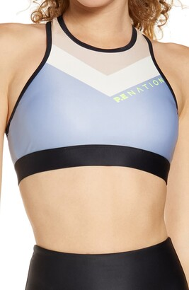 P.E Nation Side Step Sports Bra