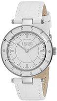 Versus By Versace Women's SP8120015 Logo Analog Display Quartz White Watch