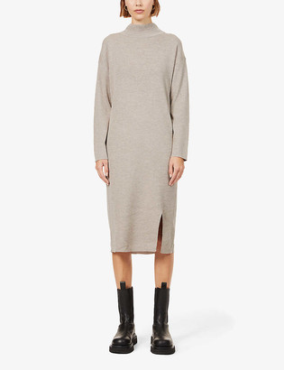 Iben Mio wool midi dress