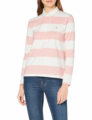 Gant Women's Original Barstripe Heavy Rugger Ls Polo Shirt