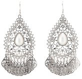 Charlotte Russe Embellished Chandelier Earrings