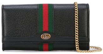 Gucci Ophidia continental chain wallet