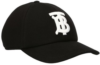 Burberry Cotton Jersey Baseball Logo Cap