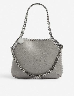 Stella McCartney Chain-embellished faux-leather shoulder bag