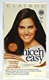Clairol Nice 'N Easy Color #122 Natural Black (Pack of 2)