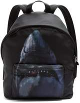 Givenchy Shark-print Nylon Backpack