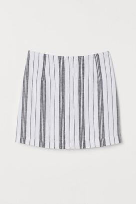 H&M Jacquard-weave skirt