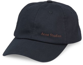 Acne Studios Carliy Cotton Twill Cap