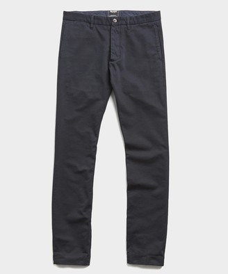 Todd Snyder Japanese Garment Dyed Selvedge Chino in Midnight