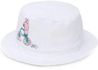 Natasha Zinko Embroidered Fedora Hat