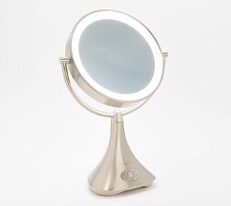 iHome 1x/7x LED Vanity Mirror w/ Bluetooth & USB Charging