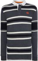 Canterbury of New Zealand Men's LS Stripe Rugby