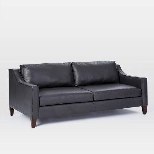 fit leather couch shopstyle rh shopstyle com
