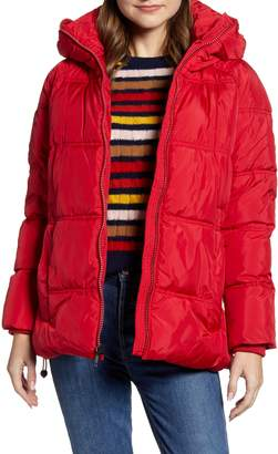 Kenneth Cole New York Hooded Puffer Jacket