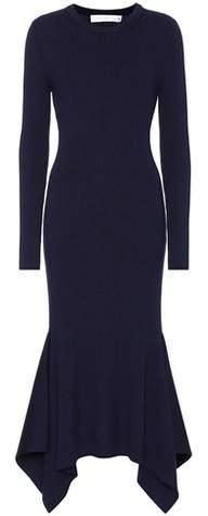 Victoria Beckham Rib-knit wool sweater dress