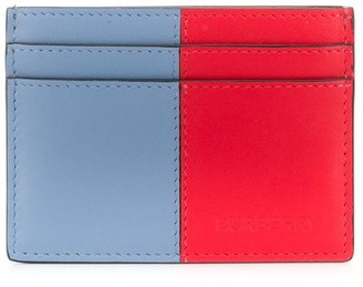 Burberry colour block card holder