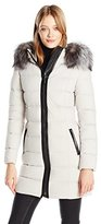 Mackage Women's Calla Fitted Lightweight Down Jacket
