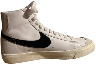 Nike Blazer White Leather Trainers