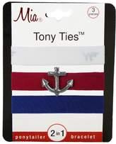 Mia Tony Ties with Charms