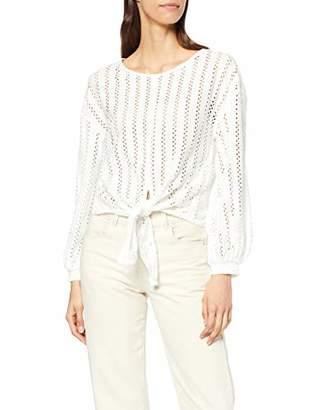 Vila CLOTHES Women's Vipiline L/s T-Shirt Blouse,Small