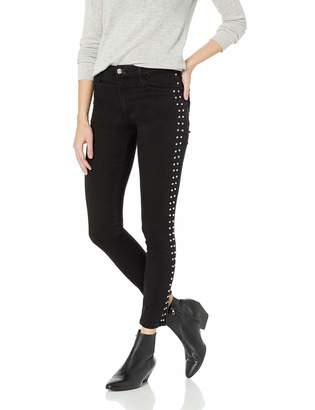 Joe's Jeans Women's Charlie HIGH Rise Skinny Ankle Side Stud Jean