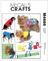 McCall Pattern Pet Gift Items - All Sizes in One Envelope Pattern