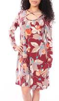 Entro Colorful Floral Dress