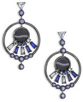Eddie Borgo Europa Crystal Drop Earrings