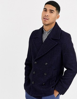 Gianni Feraud Premium Wool Blend Peacoat