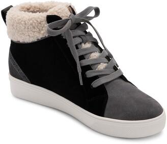 Blondo Gulia Waterproof Faux Fur Mid Sneaker