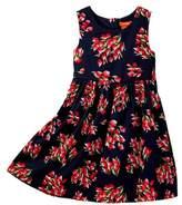 Joe Fresh Allover Print Dress (Toddler & Little Girls)