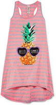 Asstd National Brand Girls Stripe Dress-Big Kid