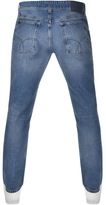 Calvin Klein Straight Tapered Jeans Blue