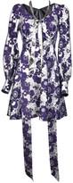 Marc Jacobs Floral Printed Dress