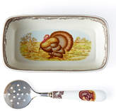 Spode Turkey Cranberry Dish