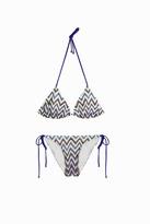 Missoni Striped Triangle Bikini