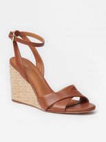 J.Mclaughlin Leeann Leather Wedges