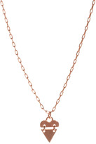 Maria Francesca Pepe Bauhaus Heart Pendant Necklace
