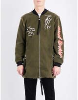 Blood Brother Beware Cottom Bomber Jacket