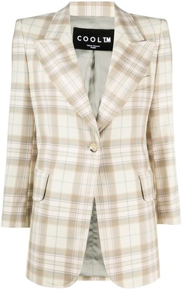 Cool T.M Check Wool Blazer