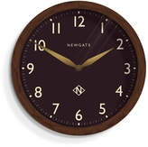 Newgate Wimbledon Clock Solid Wood - Chocolate Brown