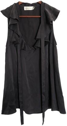 Zimmermann Navy Silk Top for Women