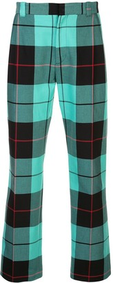 Charles Jeffrey Loverboy Slim Fit Tartan Trousers