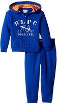 Ralph Lauren Atlantic Terry Hookup Pants Set (Infant)