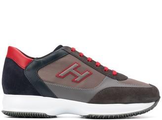 Hogan logo low-top sneakers
