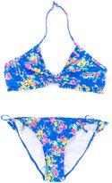 Ralph Lauren floral print bikini - kids - Nylon/Spandex/Elastane - 12 yrs