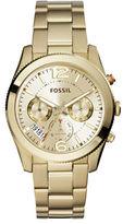 Fossil Goldtone Stainless Steel Boyfriend Watch