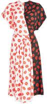 Simone Rocha Printed Asymmetric Dress
