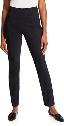 Anatomie Sonia High-Rise Pintuck Side Zip Pants