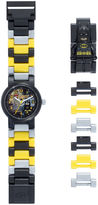 Lego DC Universe Super Heroes Batman Kids Watch with Mini Figure